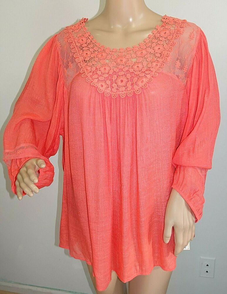 Sheer Blouse Plus Size