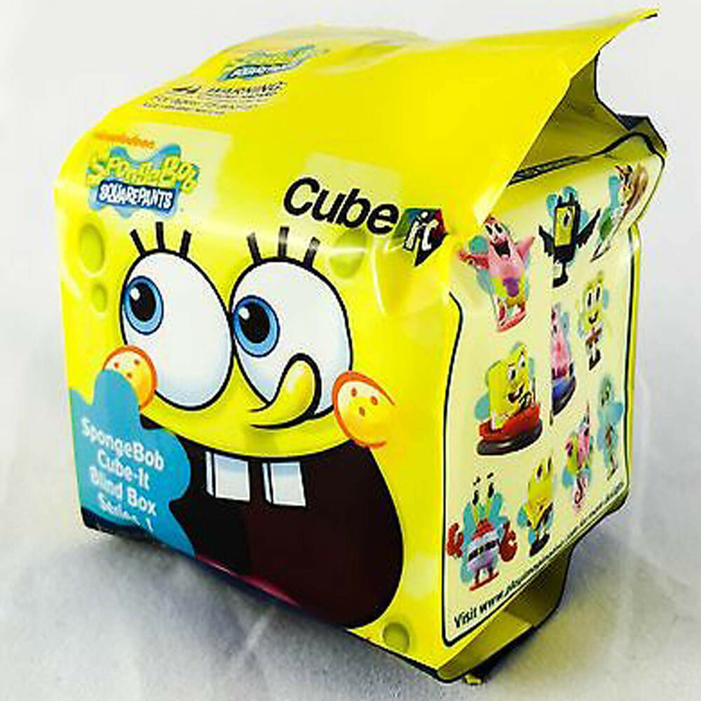 Toy Mystery Box : Spongebob squarepants cube it series blind box mini