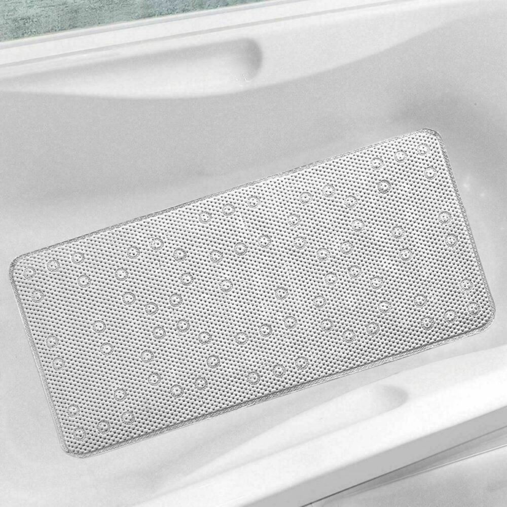 New Extra Long Cushioned Bathmat Relaxing Anti Slip Shower