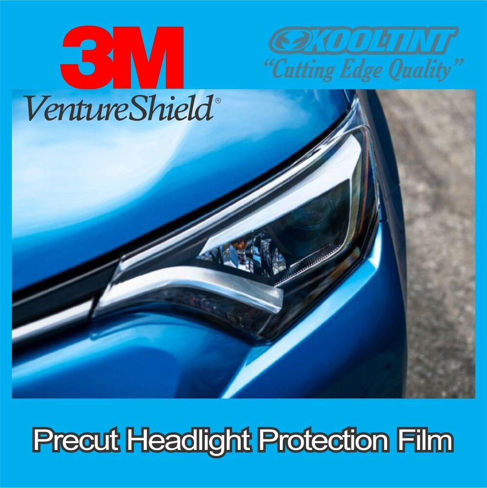 Headlight Protection Film By 3m For The 2016 Toyota Rav4
