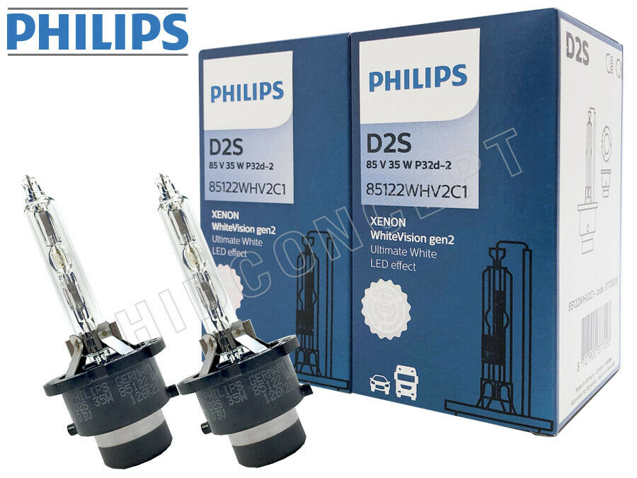 gen2 version philips 5000k white vision d2s hid xenon. Black Bedroom Furniture Sets. Home Design Ideas