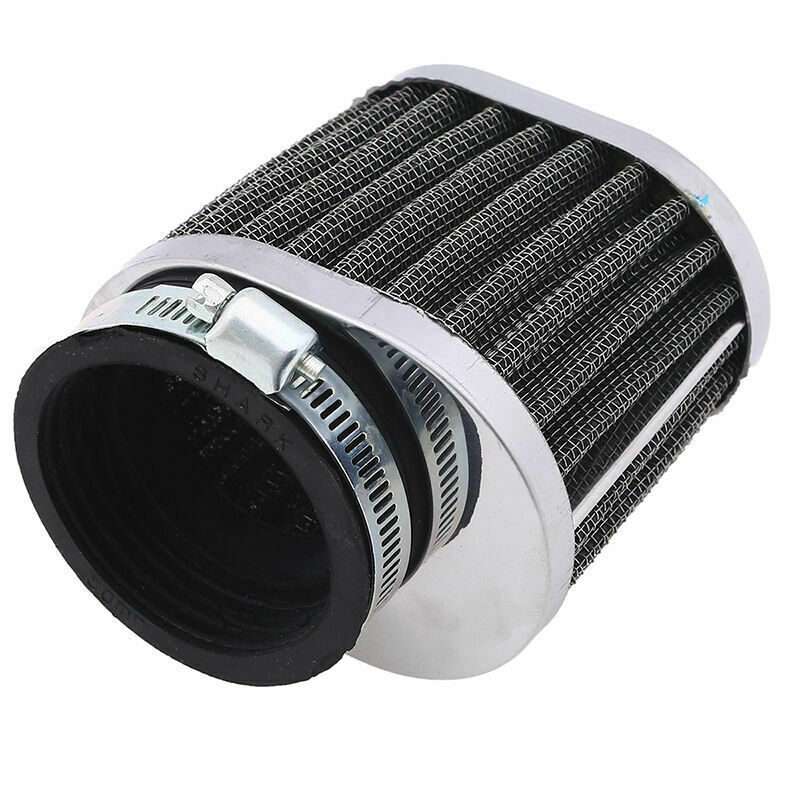 50mm intake air cleaner filter universal fit motorcycle