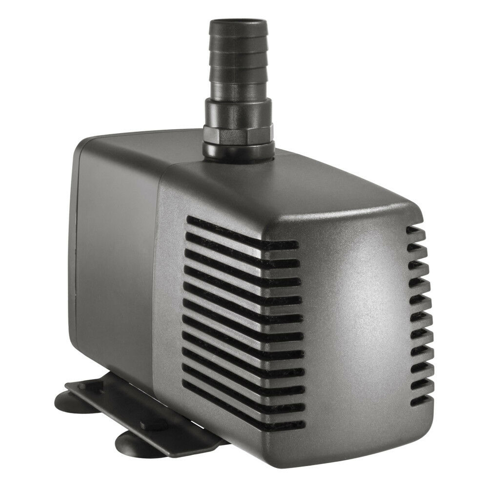 Viaaqua va 4900 submersible aquarium pond fountain pump for Submersible pond pump and filter
