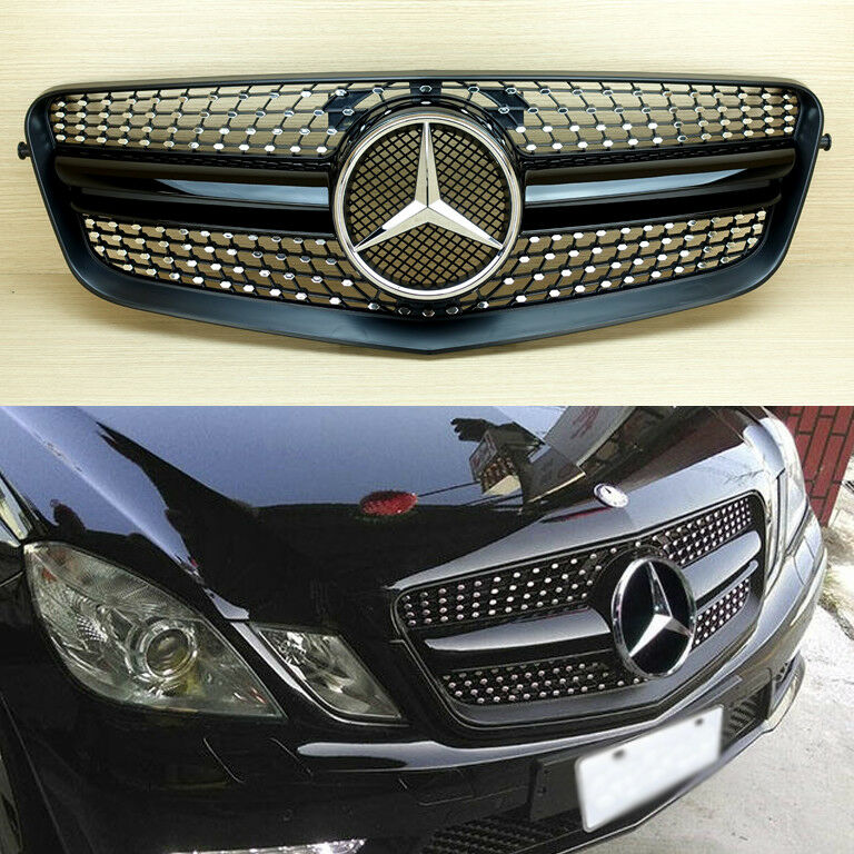 Mercedes Benz E-Class W212 E63AMG Look Gloss Black Diamond