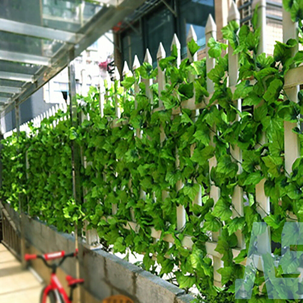 82ft artificial grape ivy vine faux leaf garland plants for Artificial leaves for decoration