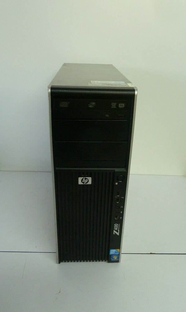 hp z400 workstation xeon w3550 6gb ram 1tb hdd no os ebay. Black Bedroom Furniture Sets. Home Design Ideas