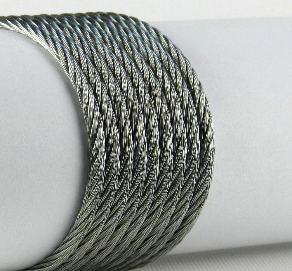 Ss Wire Rope : Mm high quality stainless steel galvanised wire rope