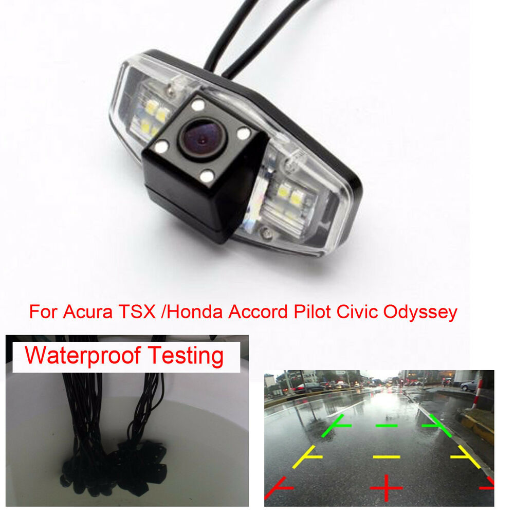 Backup rear view parking camera for acura tsx honda for Honda odyssey pilot