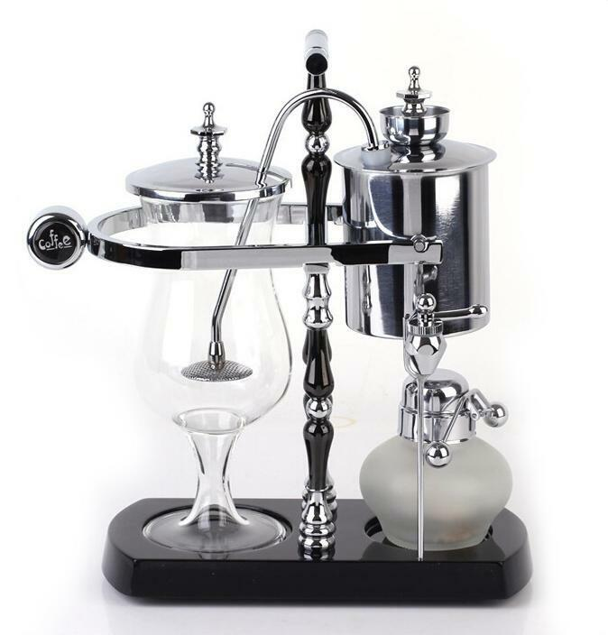 Syphon Coffee Maker History : Diguo Belgium Belgian Royal Balance Syphon Coffee Maker Siphon Brewer TOP Grade eBay