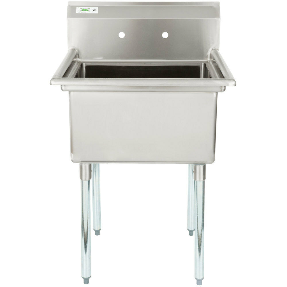 Commercial Sinks On Ebay : ... Gauge Stainless Steel One Compartment Commercial Sink 600S12323 eBay