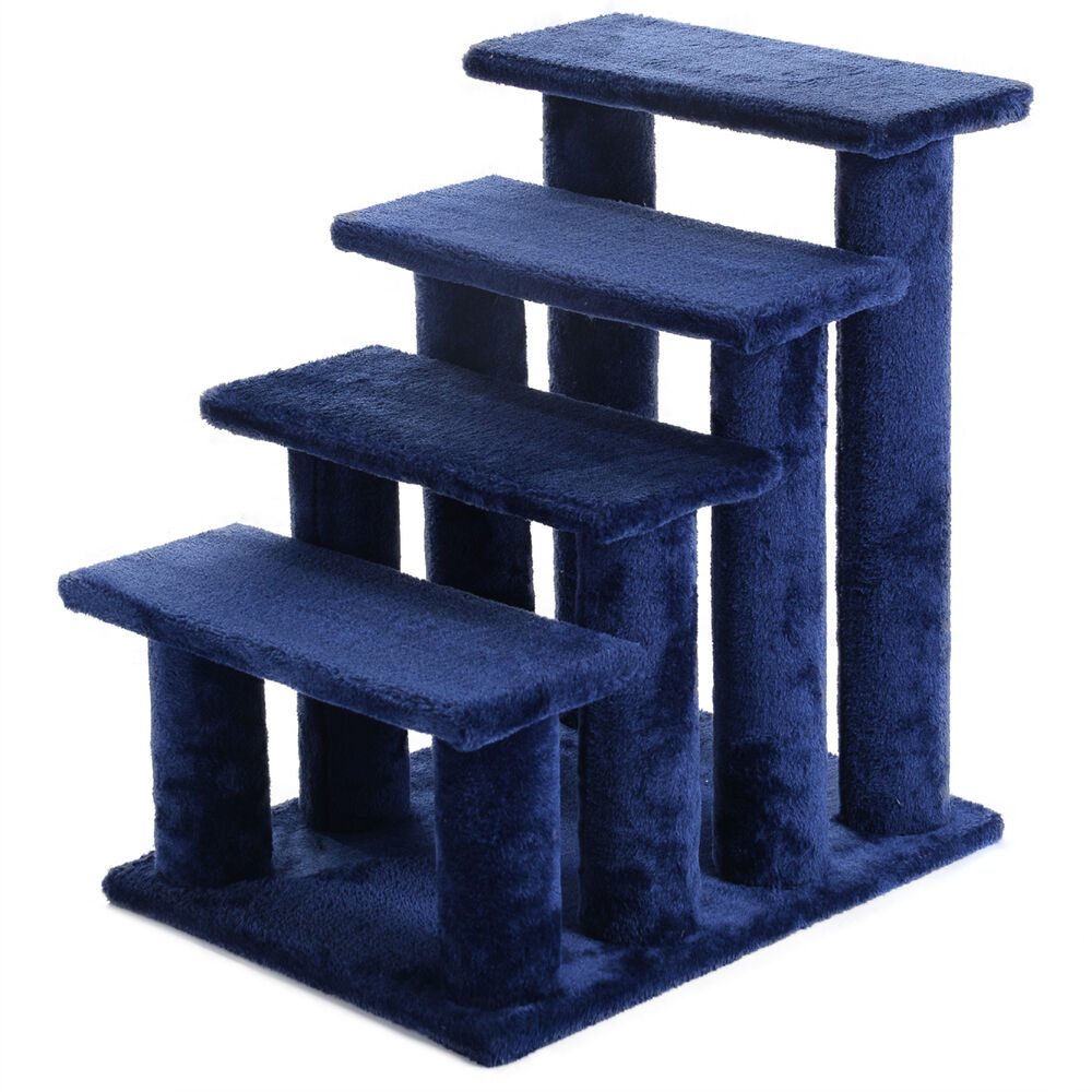 21 cat tree ladder scratcher tower play steps stairs ramp for Cat tree steps