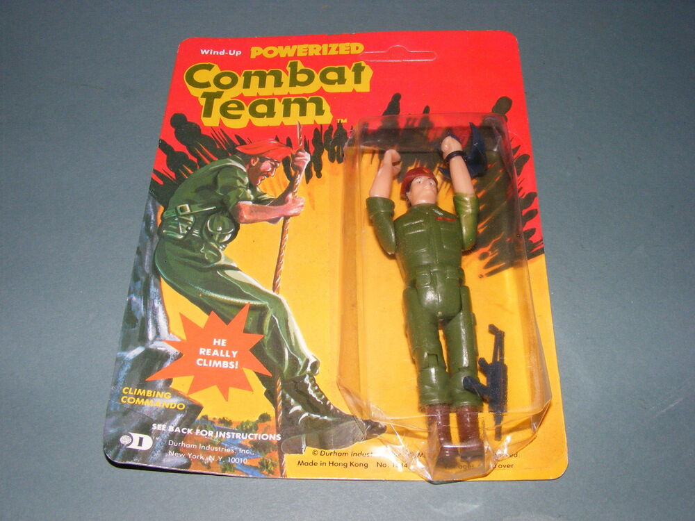 Vintage Wind Up Powerized Combat Team Action Figure NEW | eBay