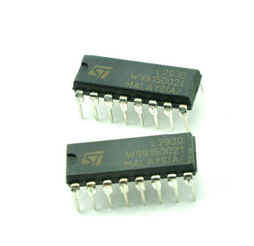 5 10pc L293d L293 Push Pull 4 Channel Motor Driver Dip 16