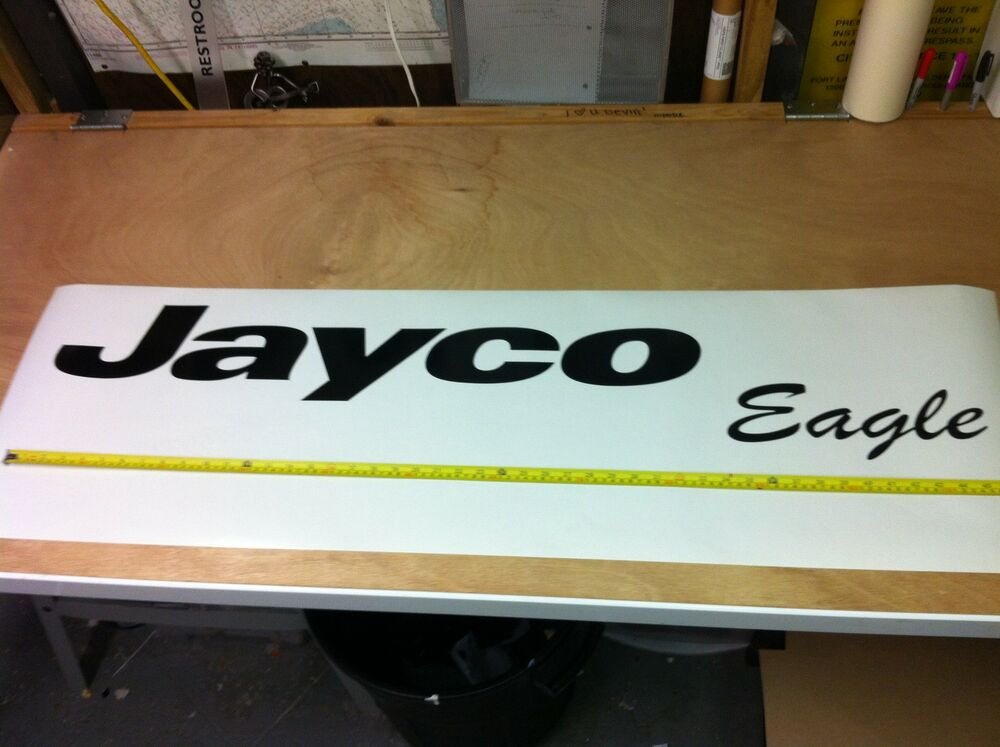 Jayco eagle decals rv sticker decal graphic camper for Decals for rv mural