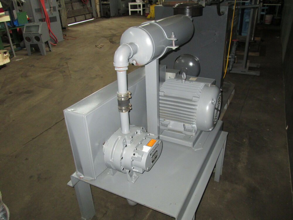 Positive displacement sutorbilt pump and motor 15 hp for 15 hp single phase motor