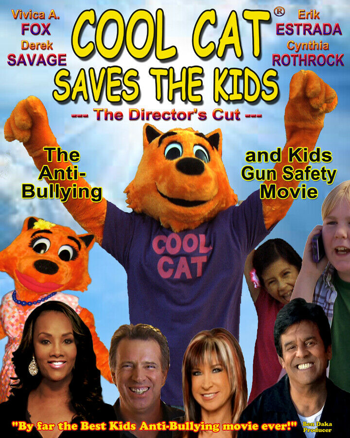 COOL CAT KIDS SUPERHERO, The Anti-Bullying And Kids Gun