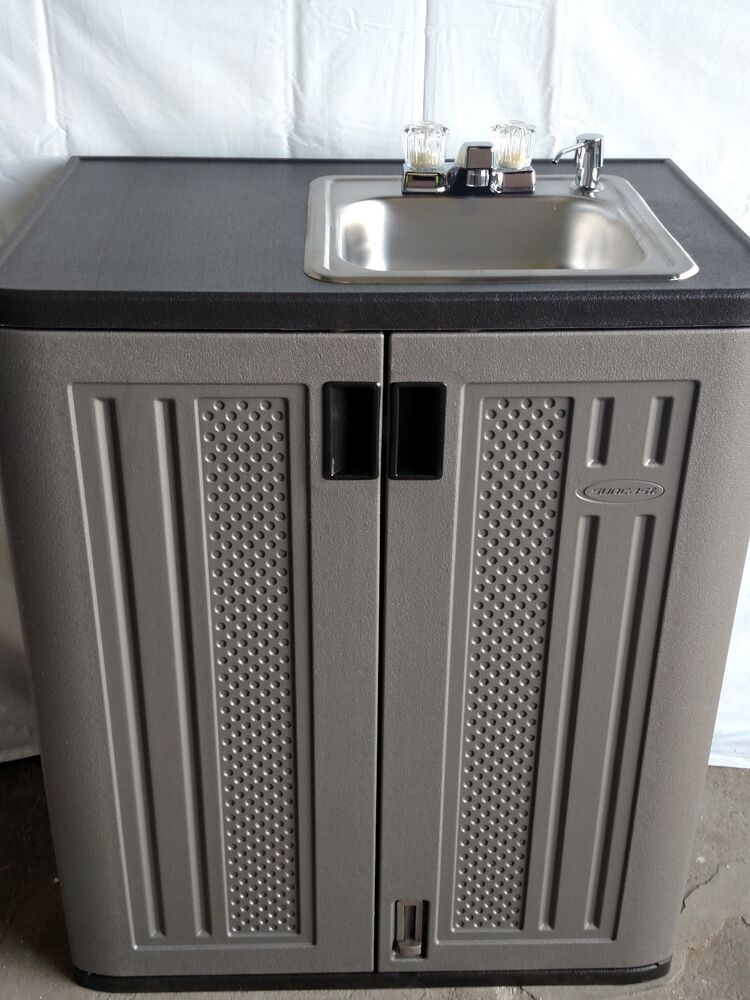 Portable Rv Sinks : Portable volt propane outdoor sink with hot water ebay