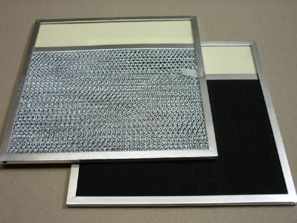 Range Hood Filter W Lens Built In Charcoal Pad Microwave