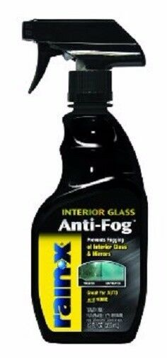 rain x interior glass anti fog glass cleaner spray bottle ebay