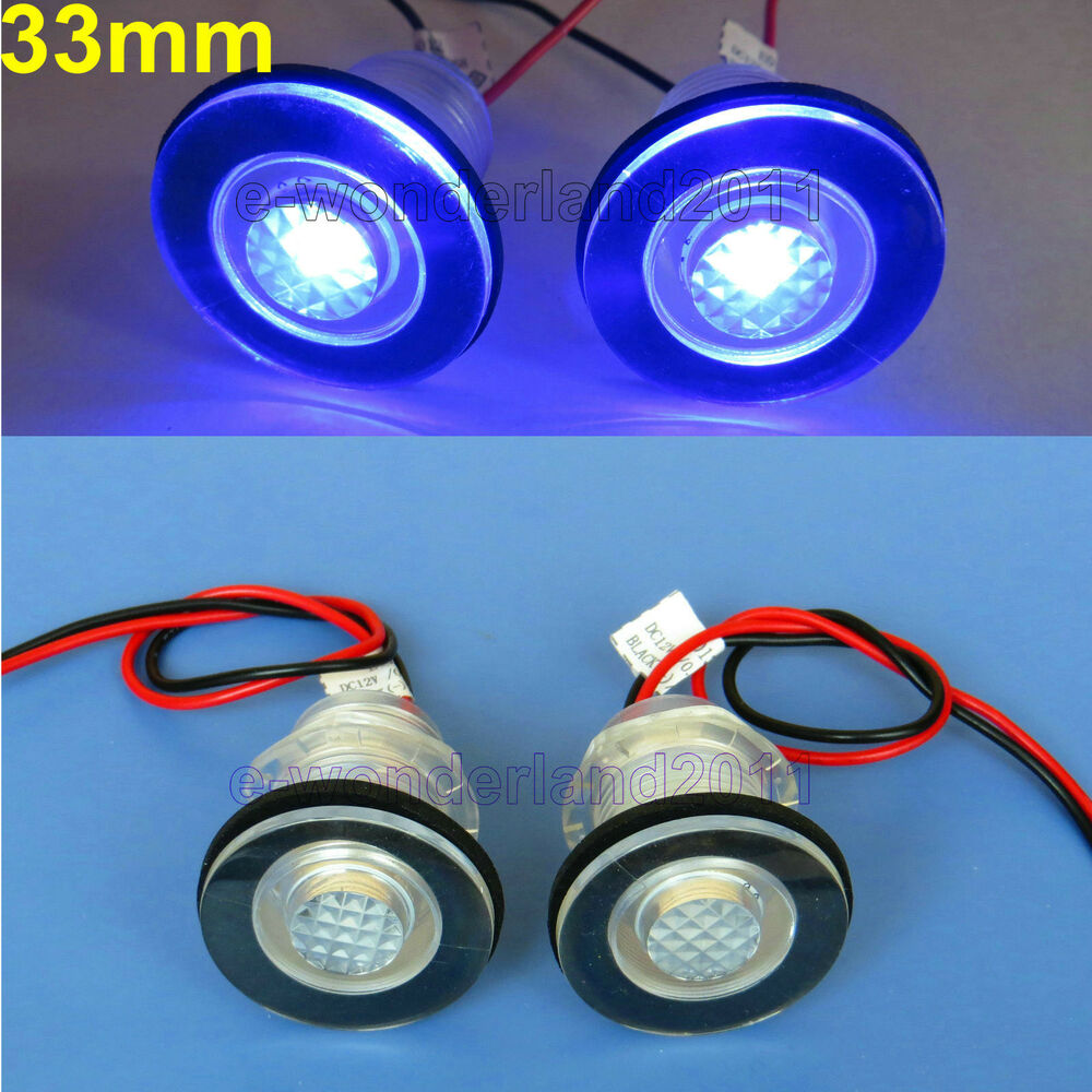 Replace Boat Lights With Led: 2× Boat Marine RV Waterproof 12V LED Courtesy Light For