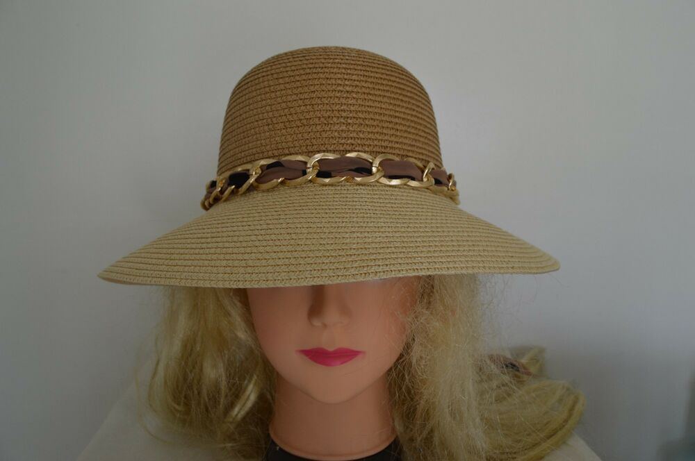 Women Wide Large Brim Floppy Folding Summer Beach Sun ...
