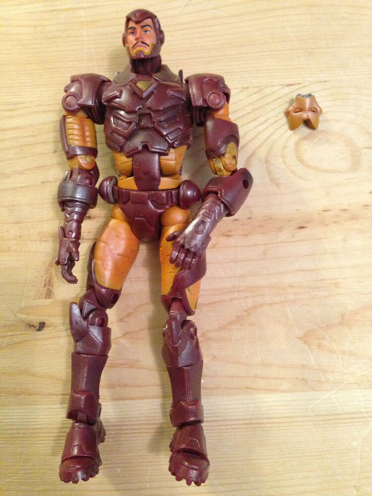 marvel legends modern armour iron man action figure toy