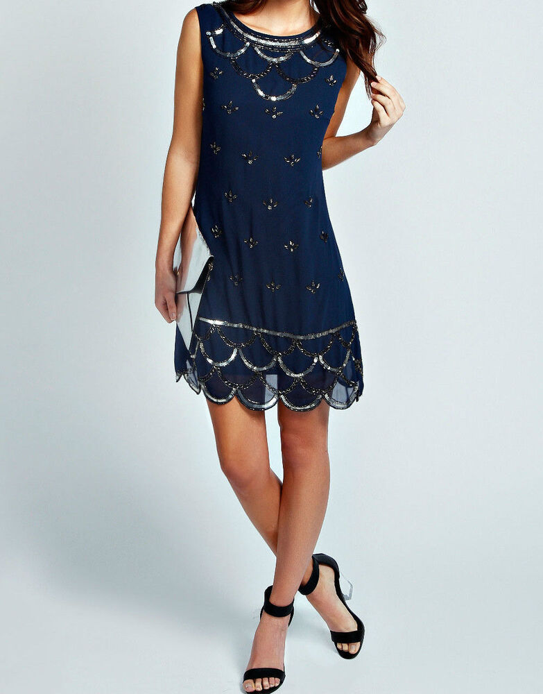 Custom Size Color Great Gatsby Blue Dress Tunic Top ...
