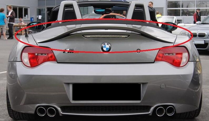 Bmw Z4 E85 02 08 Rear Boot Trunk Spoiler New Tailgate Ebay