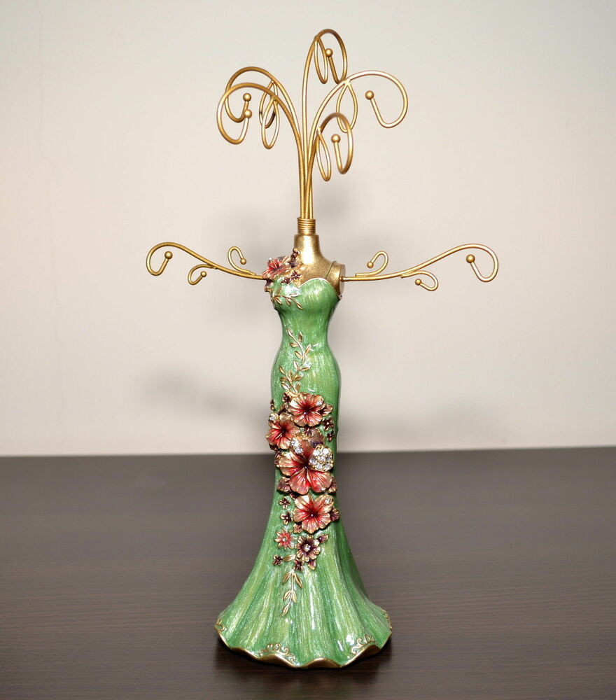 Jewellery Exhibition Stand : Beautiful mannequin jewellery stand tree display