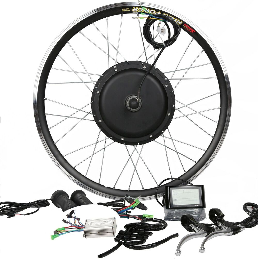 Pd750 Electric Motor Kit: 48V1200W Hi Speed Electric Bicycle E Bike Hub Motor