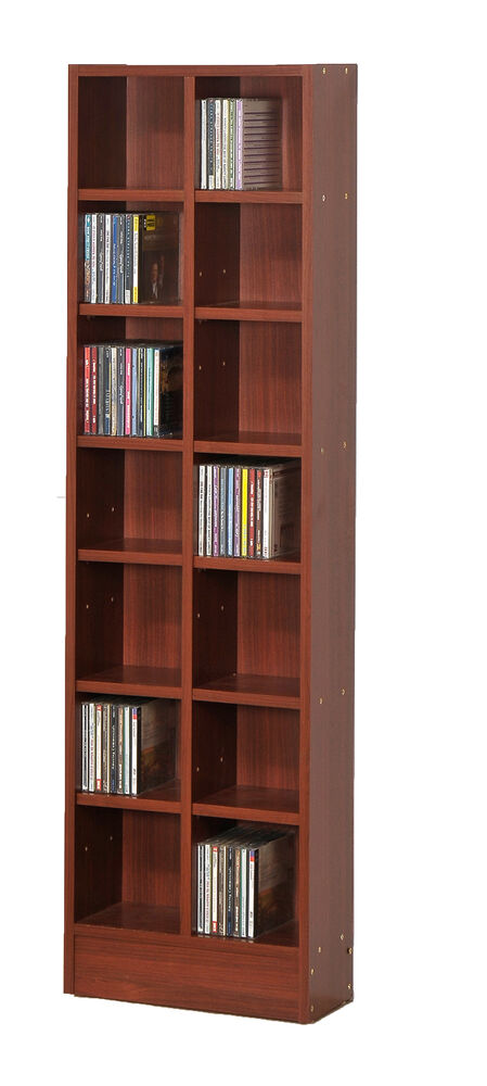 Cd Dvd Media Dvd Cd Games Storage Rack 1106 Ebay
