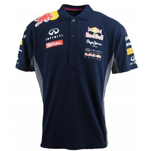 mens red bull f1 polo shirt infiniti pepe jeans 13 15 formula 1 navy ebay. Black Bedroom Furniture Sets. Home Design Ideas