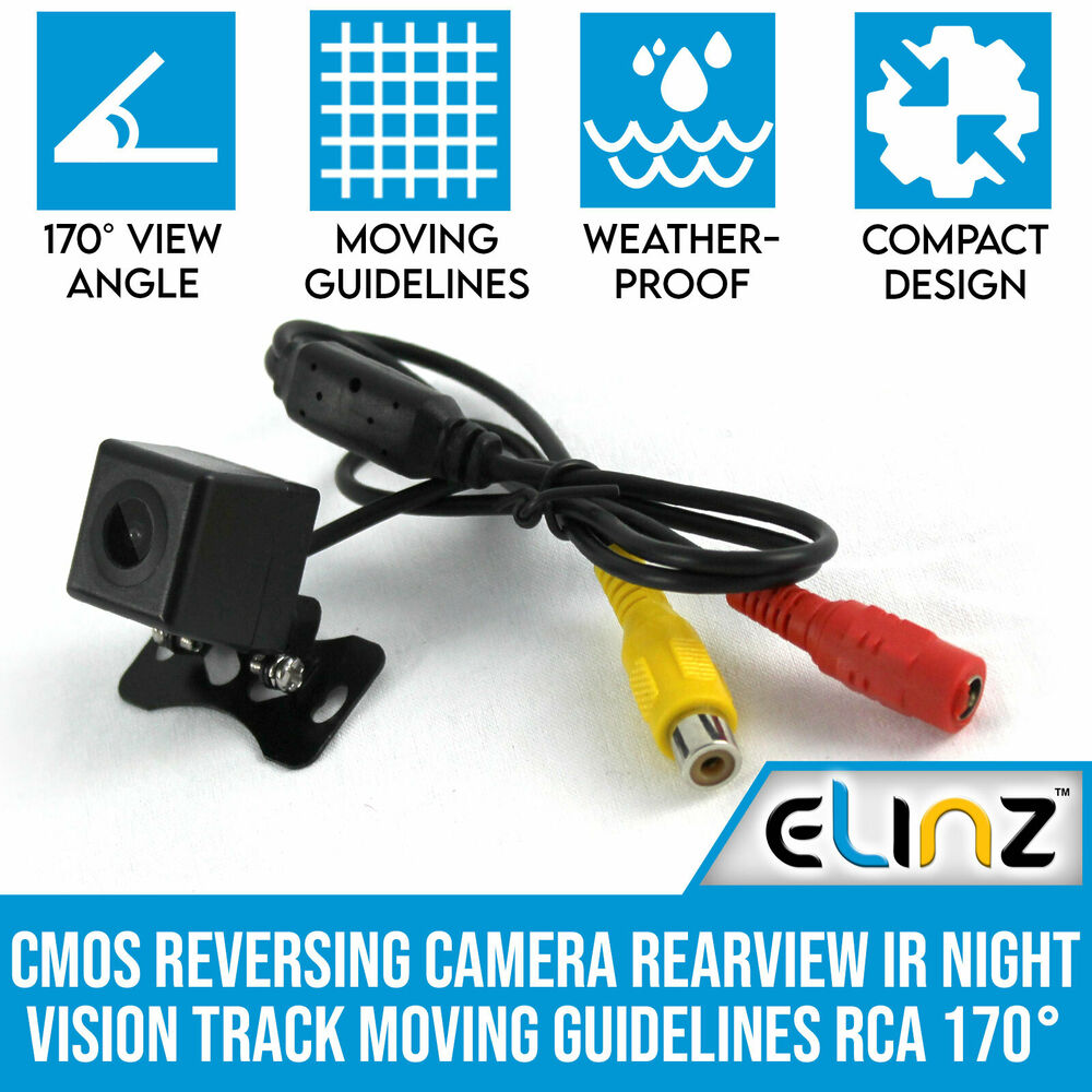 elinz reversing camera wiring diagram wiring library Brake Wiring Diagram cmos reversing camera rearview ir night vision track moving guidelines rca 170� 686494501607 ebay