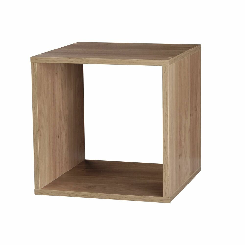 Wooden storage cube shelving display shelf stackable