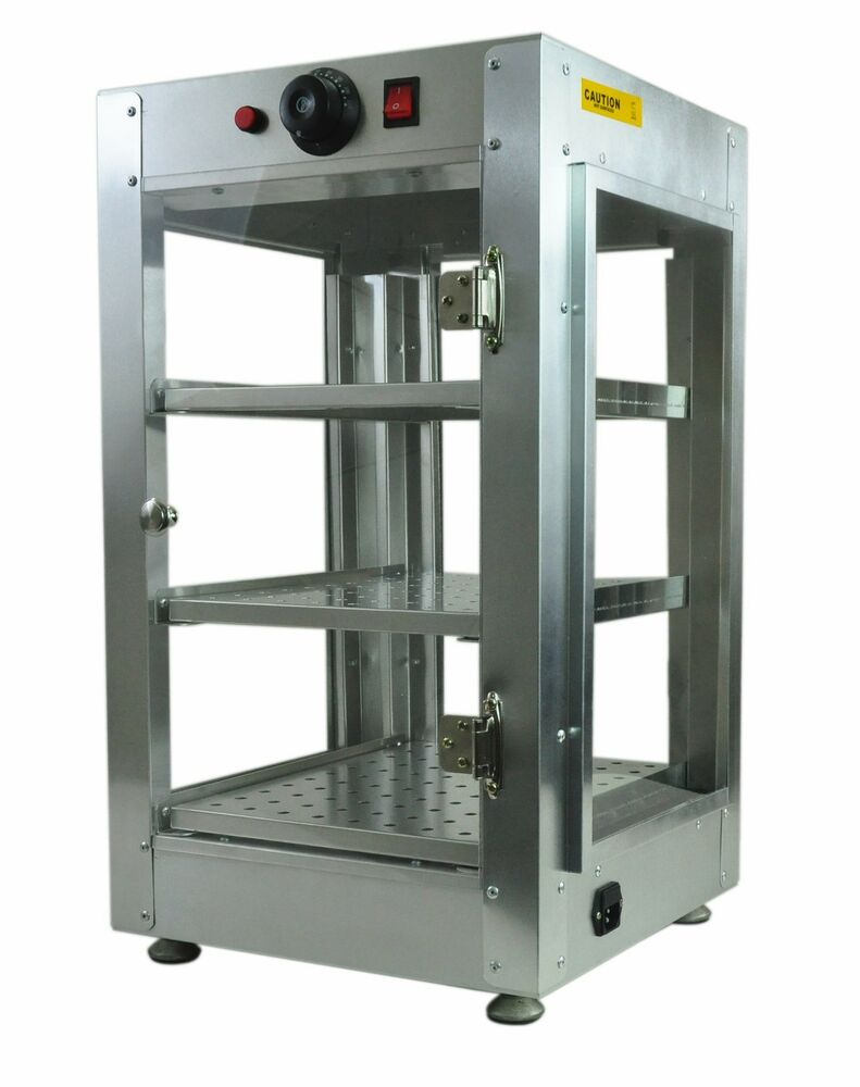 Commercial Food Warmer Cabinet ~ Commercial countertop food pizza pastry warmer