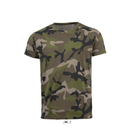 img-Mens Mans Slim Fit Camo Military Army Jungle Camouflage T-shirt T-Shirt