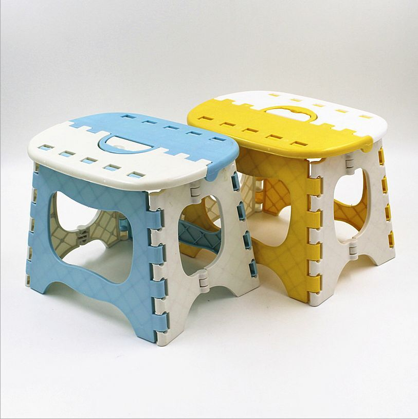 Folding Foldable Children Step Stool Mini Portable Easy