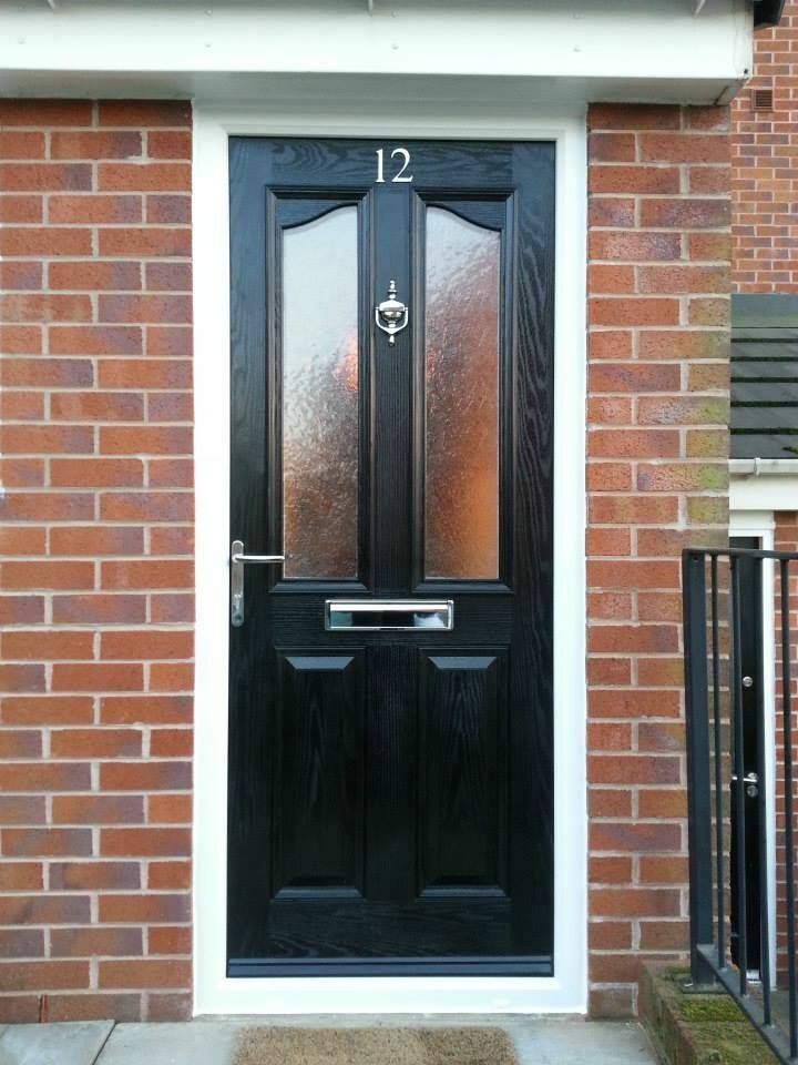 Composite door supplied fitted only any colour for Exterior doors fitted