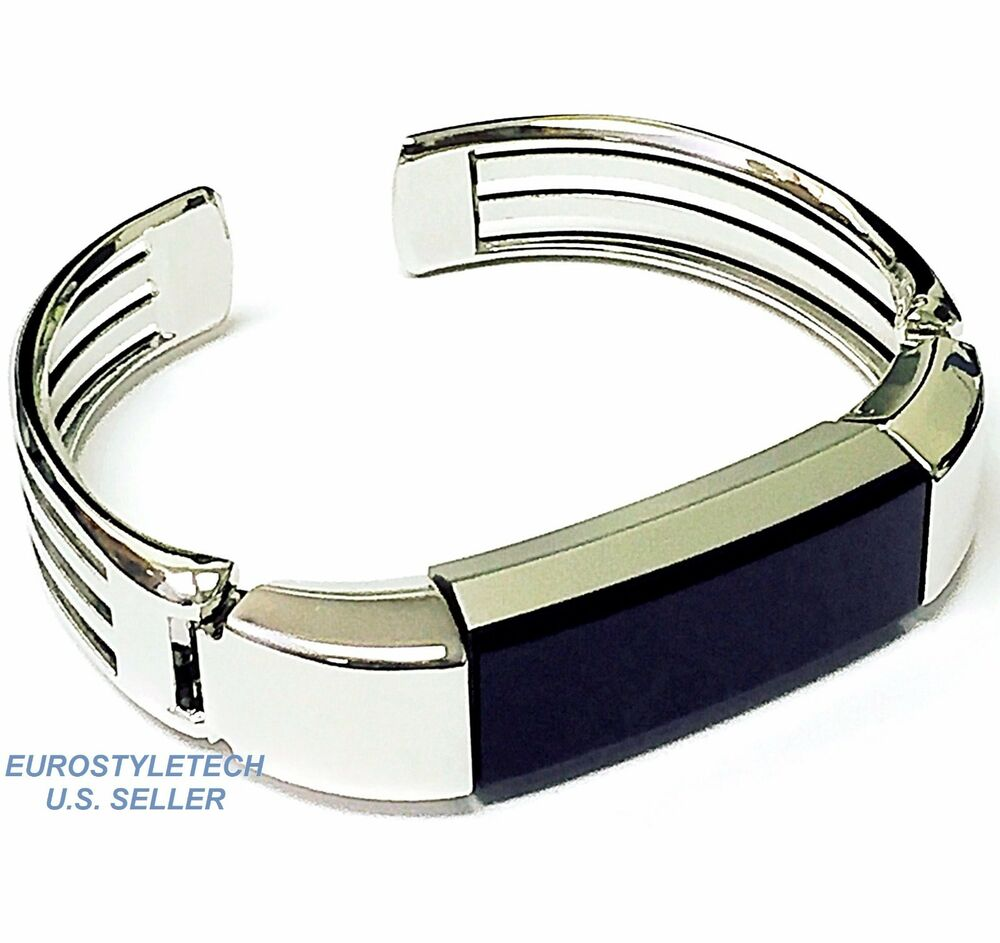Silver Band Bracelet: New Silver Color Metal Band For Fitbit Alta Wristband
