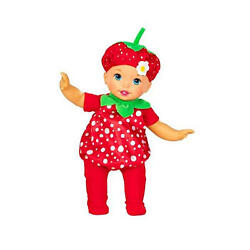 FISHER PRICE LITTLE MOMMY DRESS UP CUTIES STRAWBERRY *NEW*