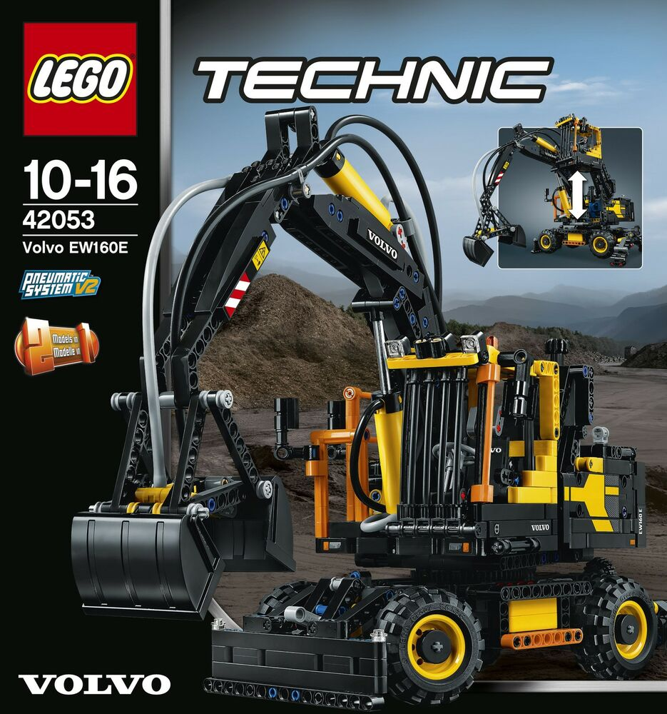 lego technic 42053 volvo ew160e neu ovp ebay. Black Bedroom Furniture Sets. Home Design Ideas