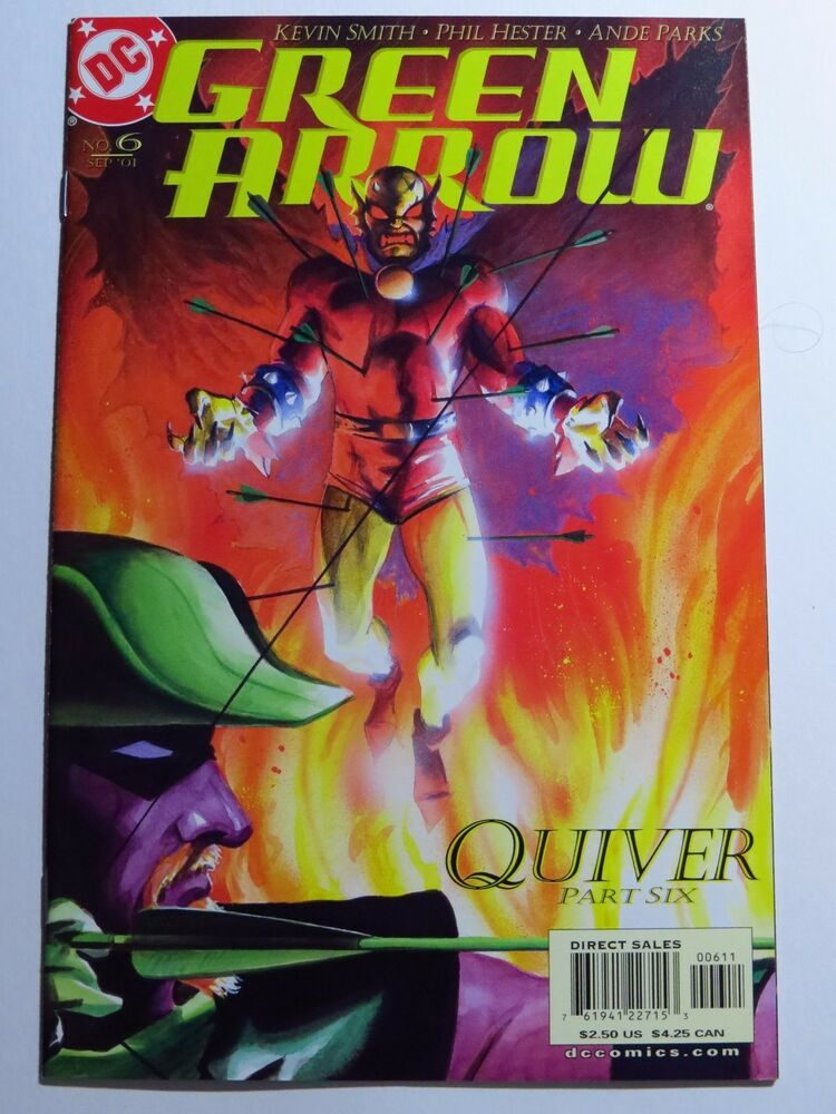 Green Arrow Volume 2 Issue 6 7 8 9 And 10 Dc Comics Modern