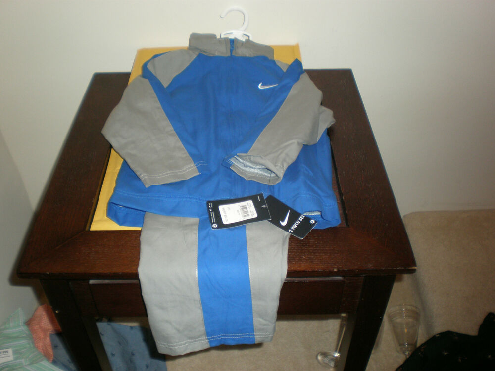 Boy S Nike 2 Piece Size 2t Sweatsuit Jogging Outfit Track