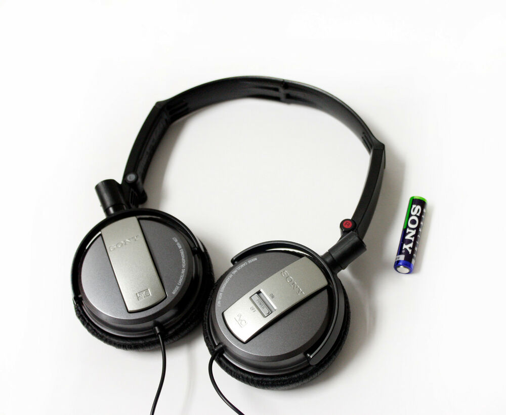 sony mdr nc7 foldable active noise cancelling on ear. Black Bedroom Furniture Sets. Home Design Ideas