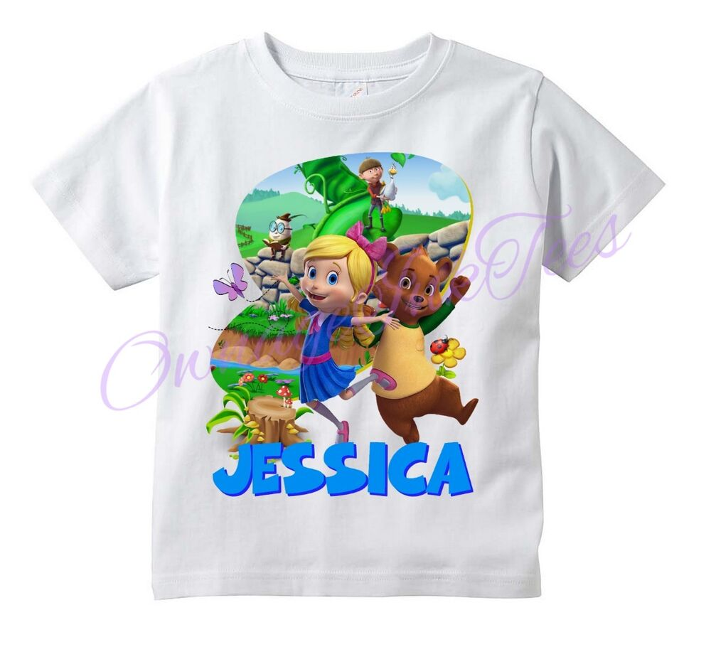 Goldie And Bear Custom T Shirt Personalize Birthday Add