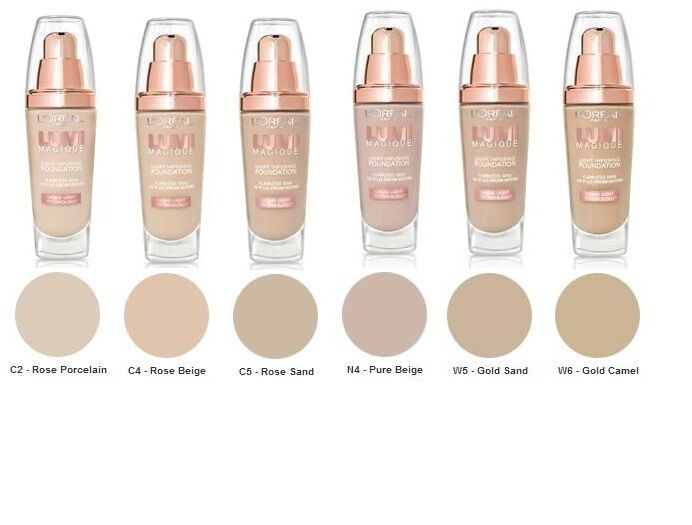 L Oreal Lumi Magique Light Infusing Foundation Spf 18