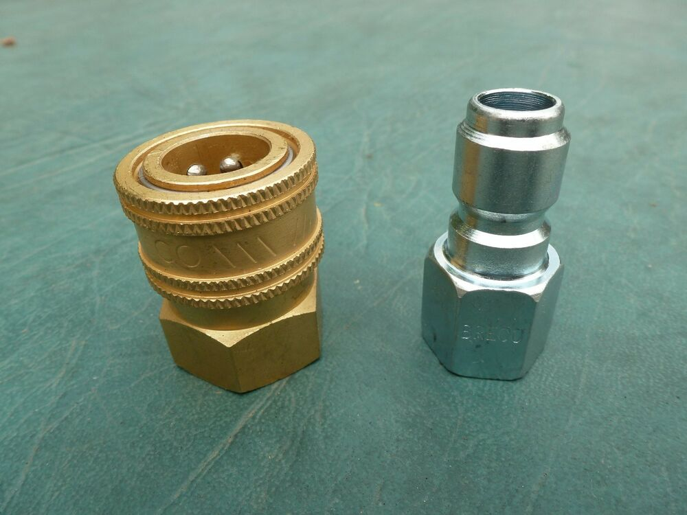 Quot quick connect fittings socket plug pressure