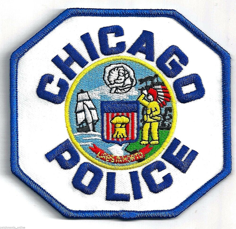 Chicago Police Department Iron On Patch Ebay