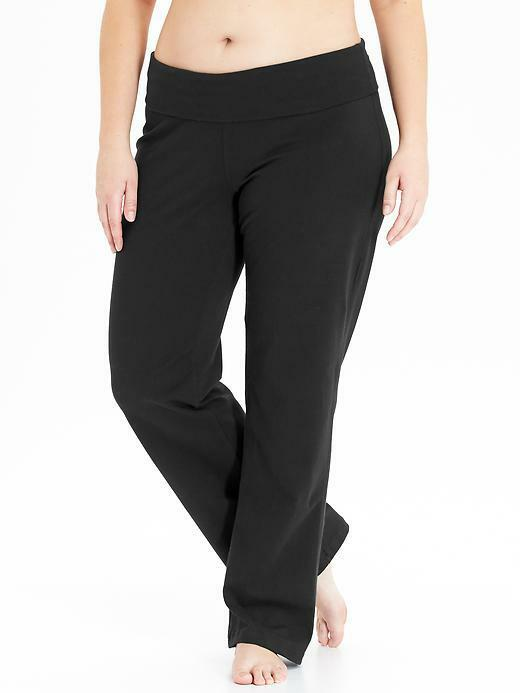 Old Navy Women's Active Plus Size Wide, Straight Leg Yoga ...