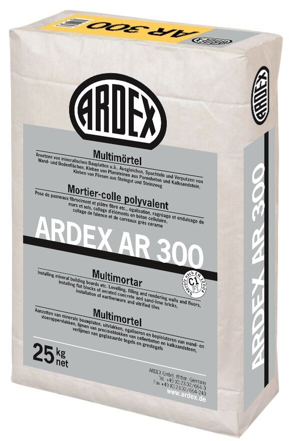 6x ardex ar 300 25 kg ausgleichen spachteln und verputzen ebay. Black Bedroom Furniture Sets. Home Design Ideas